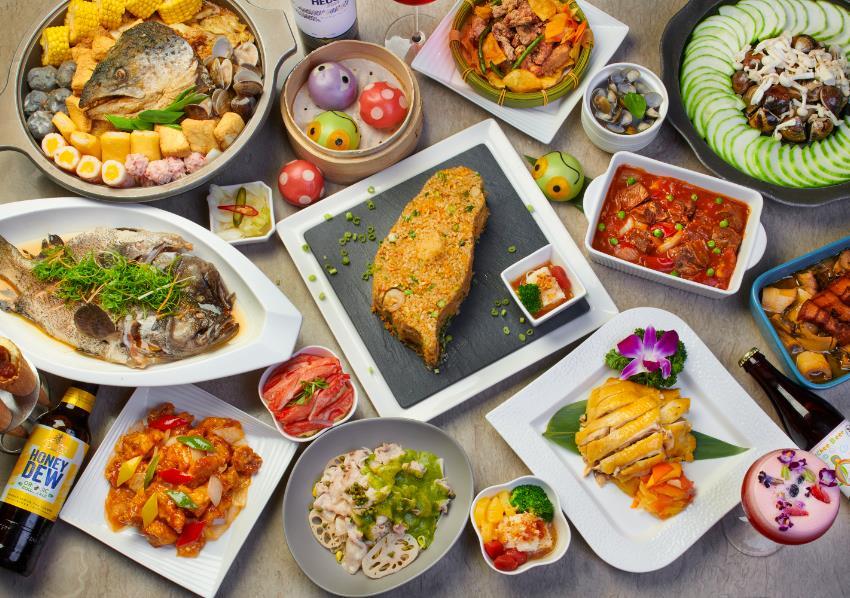 中式料理叁和院台灣風格飲食